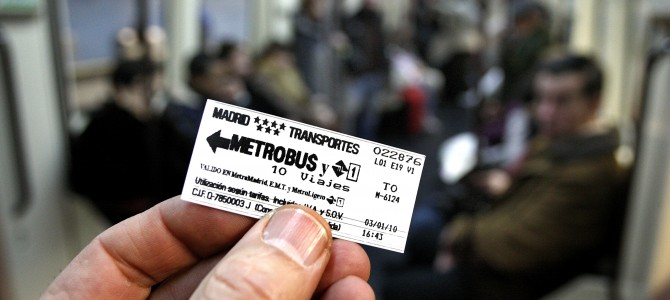 Un billete con número mágico…