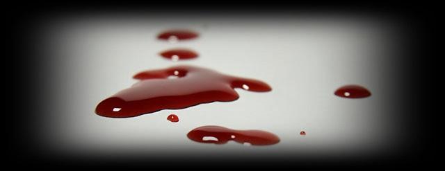 El valor de unas gotas de sangre…