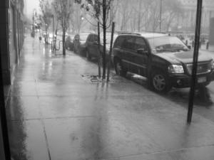 La lluvia sabía por qué