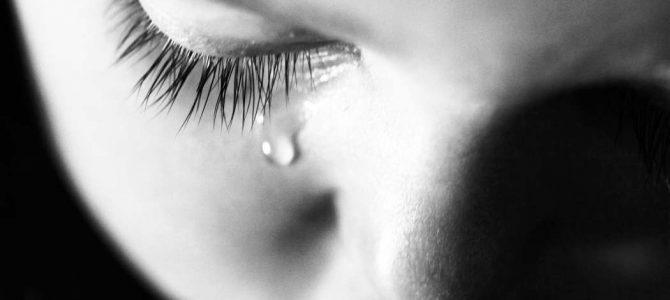 El peso que tuvo una lágrima…